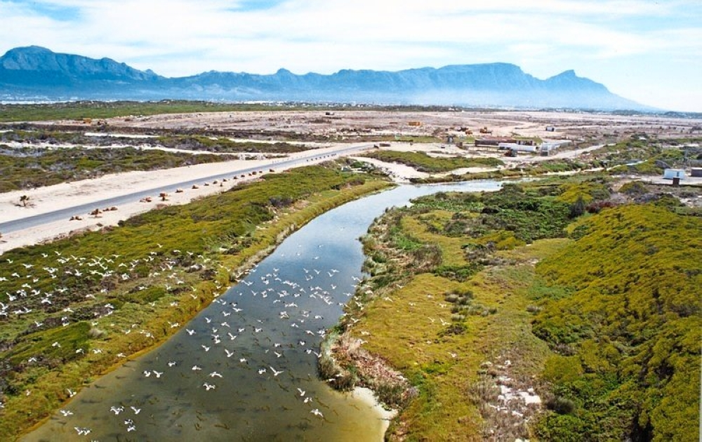 A view of False Bay Ecology park of Cape Town. — Wikimedia Commons