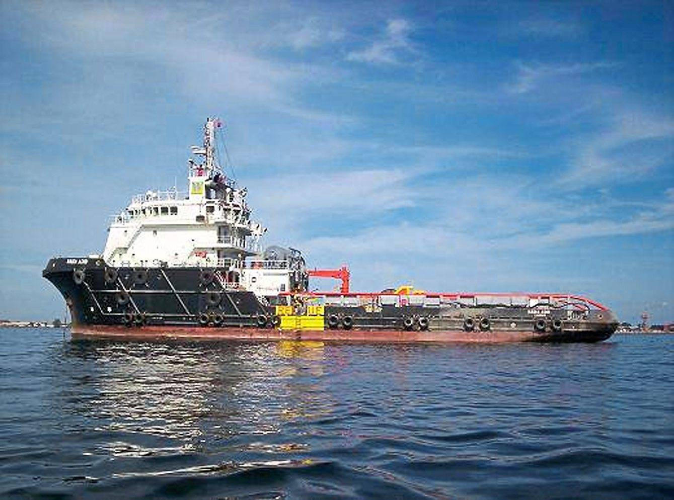 Higher utilisation: File picture shows an anchor handling vessel. Perdana said the group's vessel utilisation level rose to 91% in the third quarter.