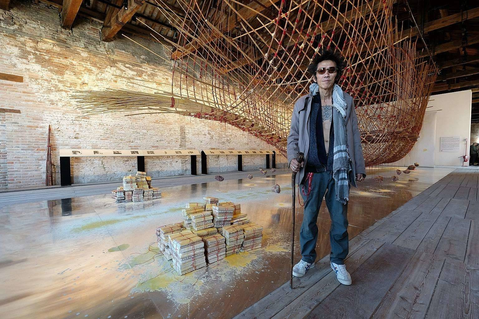 Acclaimed Singaporean artist Zai Kuning, who is currently based in Ipoh for research work, will be presenting an acoustic showcase on Dec 5. He is also part of the film discussion surrounding his 'Riau' documentary on Dec 6. Photo: Filepic