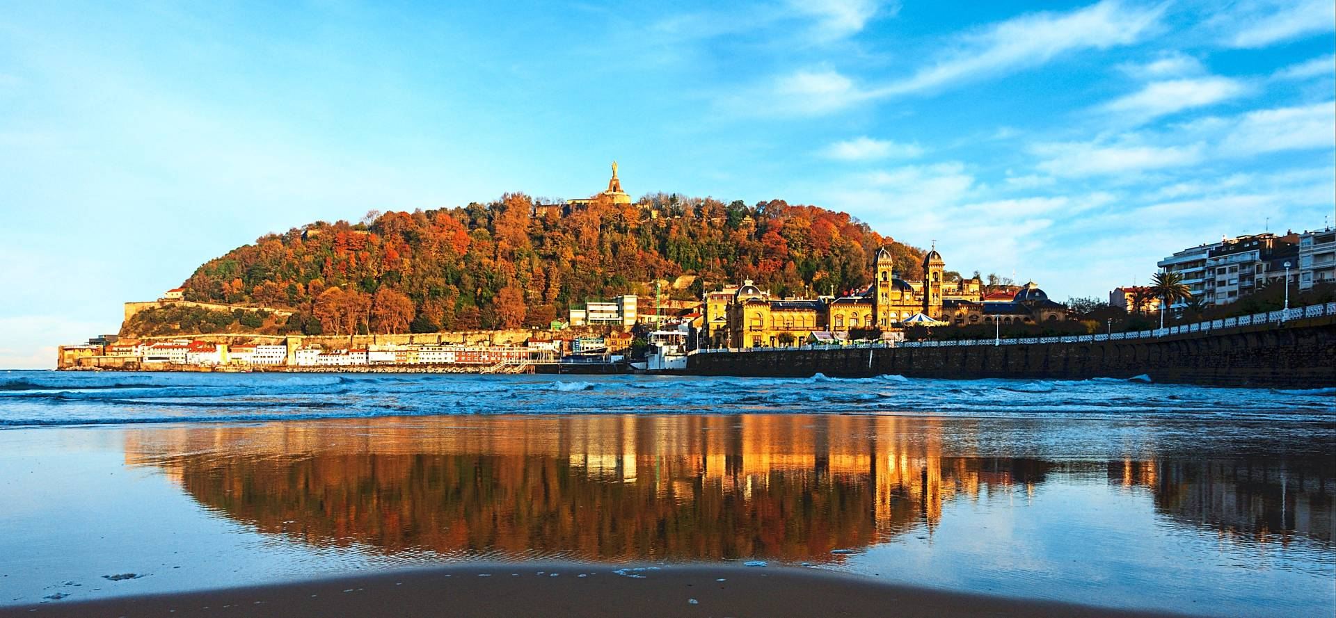 San Sebastian is often called the gastronomy capital of the world because of the number of Michelin-starred restaurants it hosts.