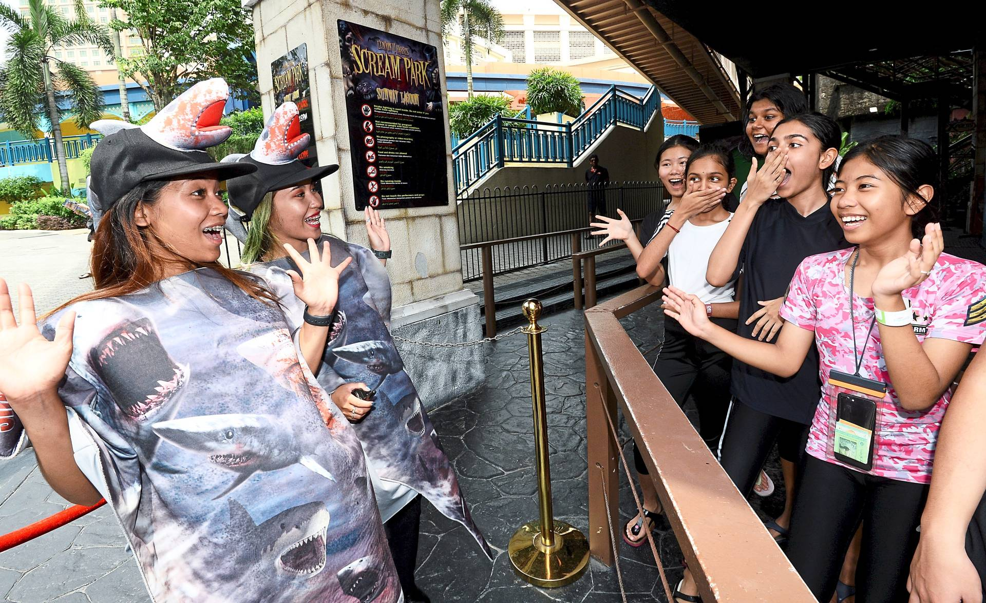 Sunway Lagoon introduces a new attraction to the theme park every two years. — Photos: AZHAR MAHFOF/The Star