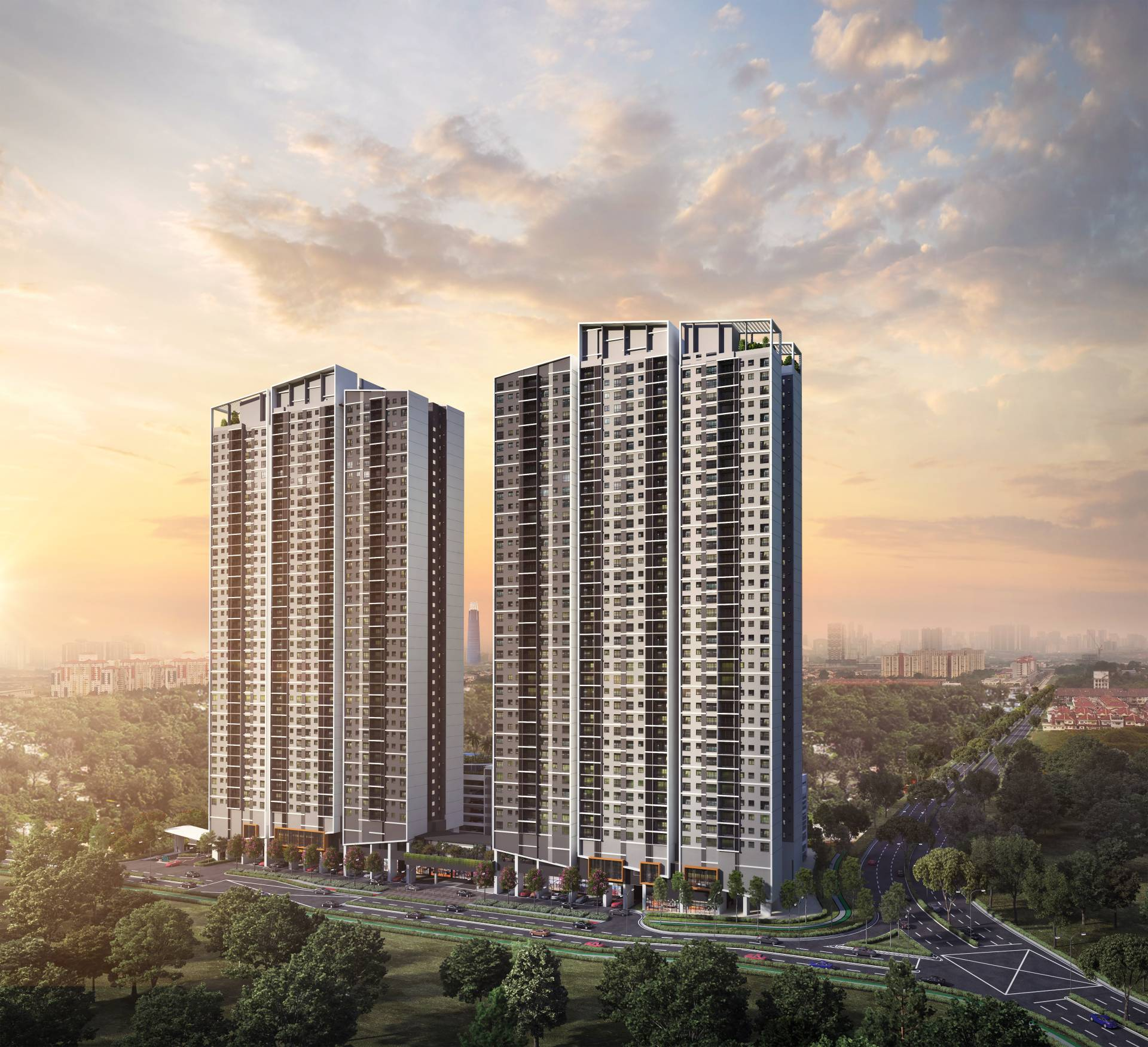 Residensi AVA will be located in the heart of Kepong at The Walk, Kiara Bay's Central Business District.