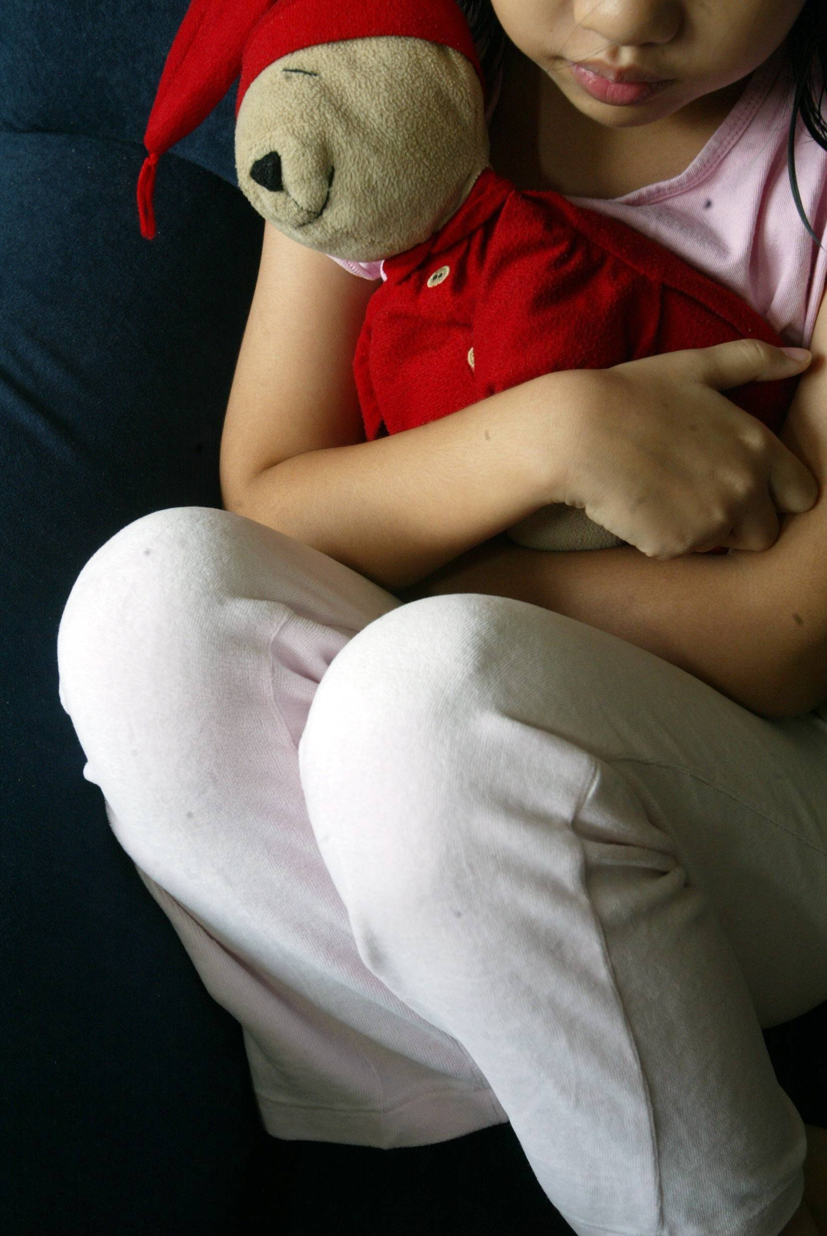 Most sexually abused children are too afraid to speak up about the abuse.