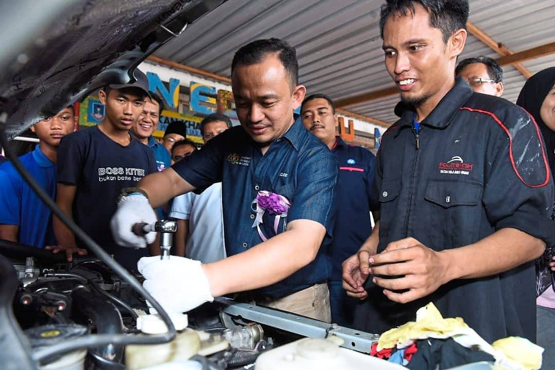 A bright future lies ahead for TVET in Malaysia, says Maszlee.