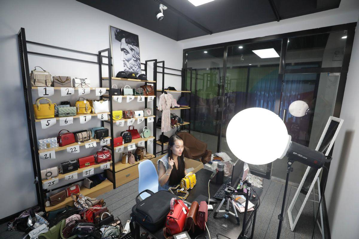 Internet celebrities: Content creators are increasingly making money by promoting products through live-streaming. — China Daily/ANN