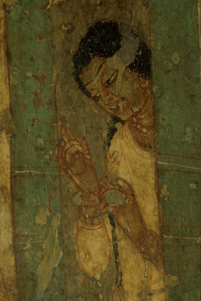 King Nanda begging for alms, Cave 1.