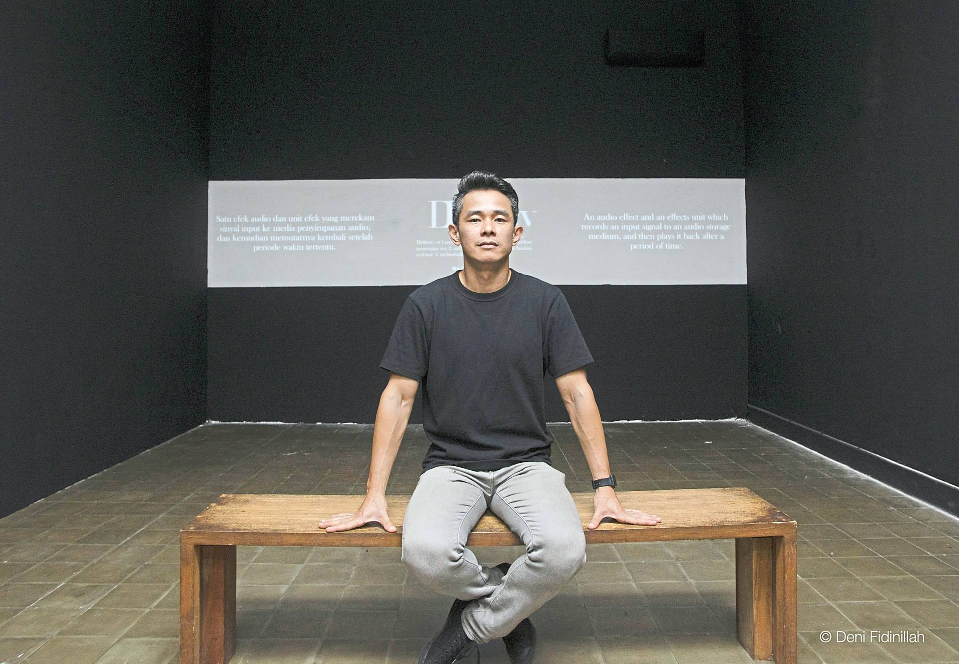Gan investigates  the possibilities of 'exhibition' as a medium of creative expression in itself with his fifth solo show 'All Watched Over By Machines Of Loving Grace'.