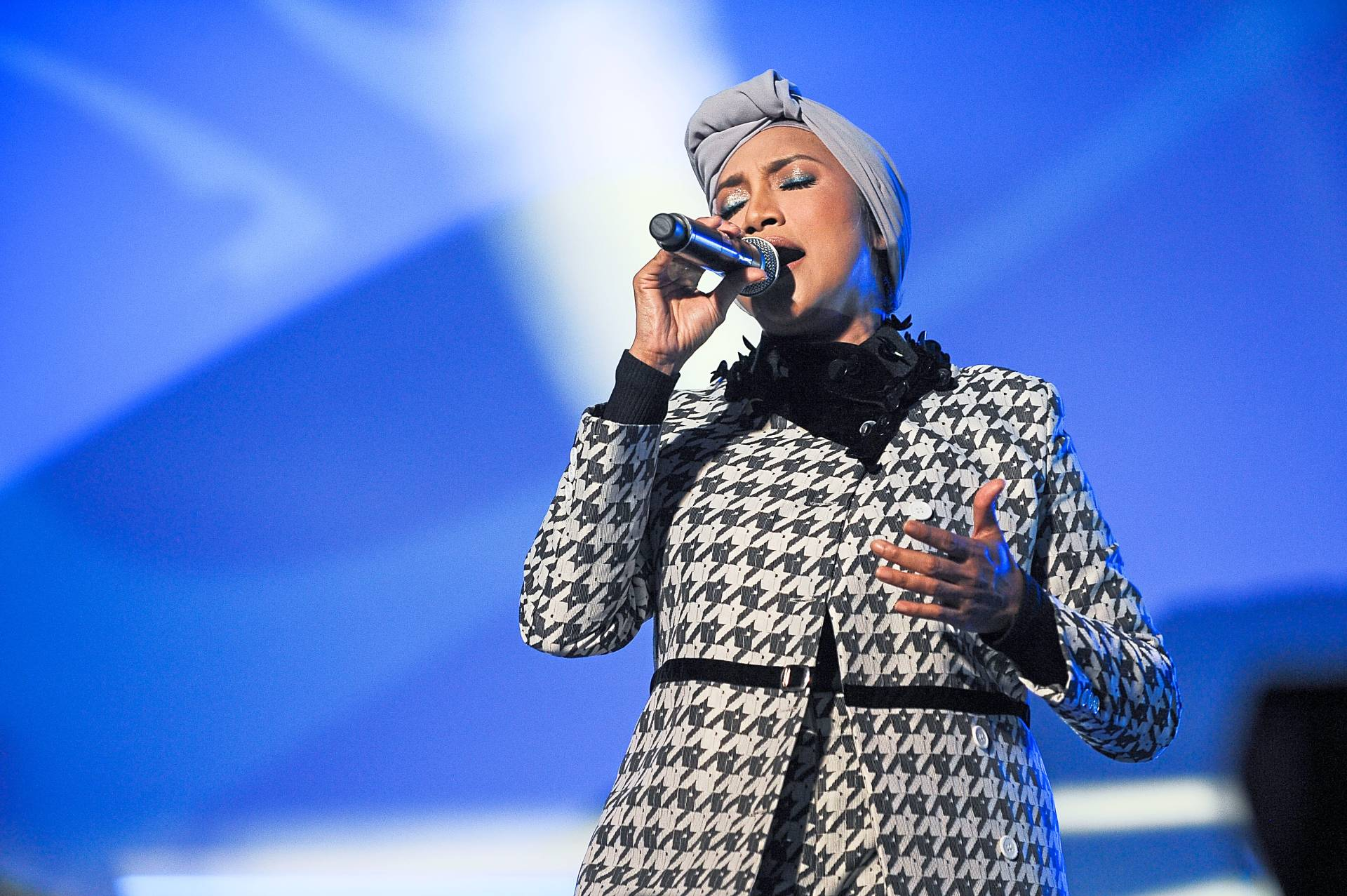 Ziana Zain was among the local artistes who performed at the concert.