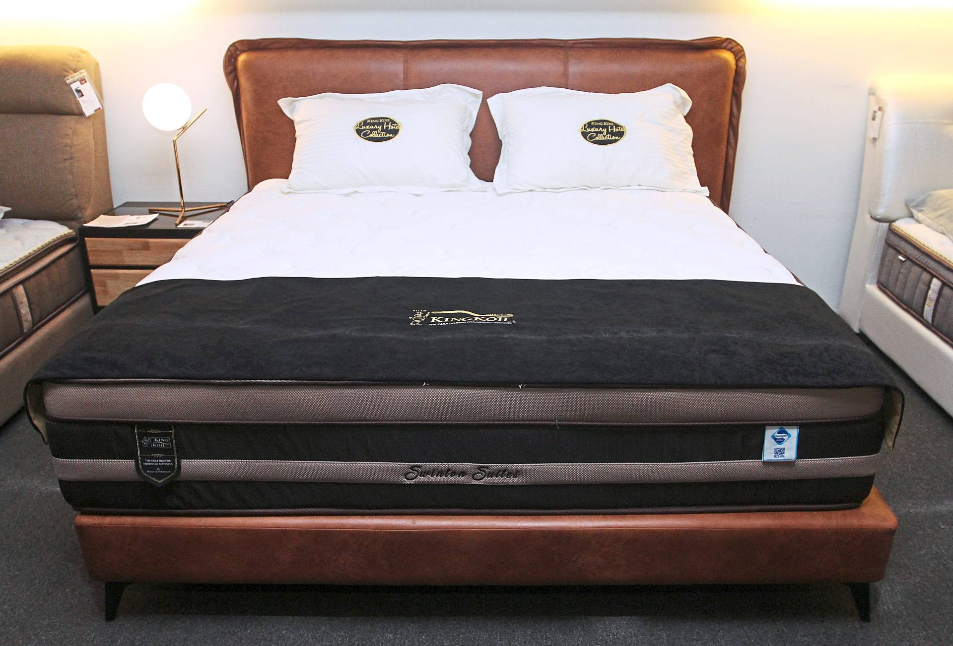 The Swinton Suites mattresses have an anti-static function.
