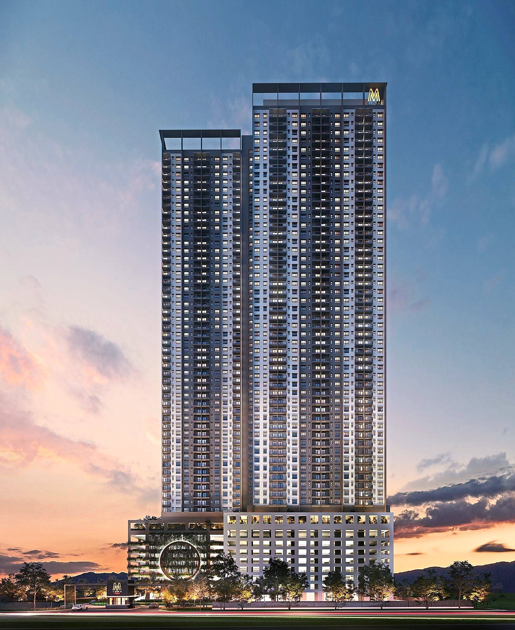 Affordable segment: An artist's impression of the M Luna project which sits on 5.47 acres next to the Kepong Metropolitan Park.