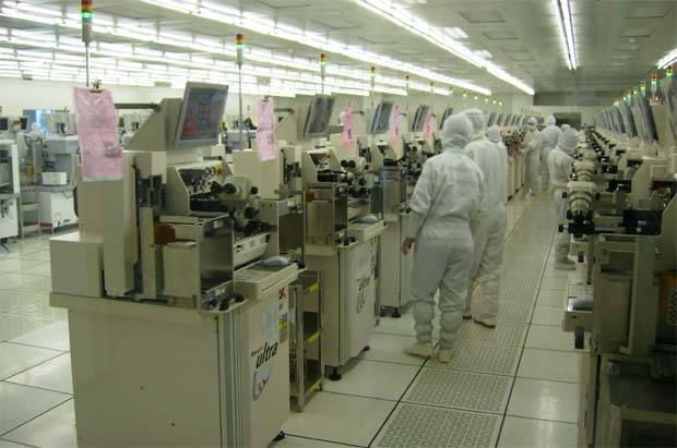 """TA Securities, in the report yesterday, maintained its """"neutral"""" stance on the semiconductor sector with a """"buy"""" recommendations on Unisem, """"hold"""" on Inari Amertron and Malaysian Pacific Industries and a """"sell"""" on Elsoft Research. (Filepic shows a UNISEM factory.)"""