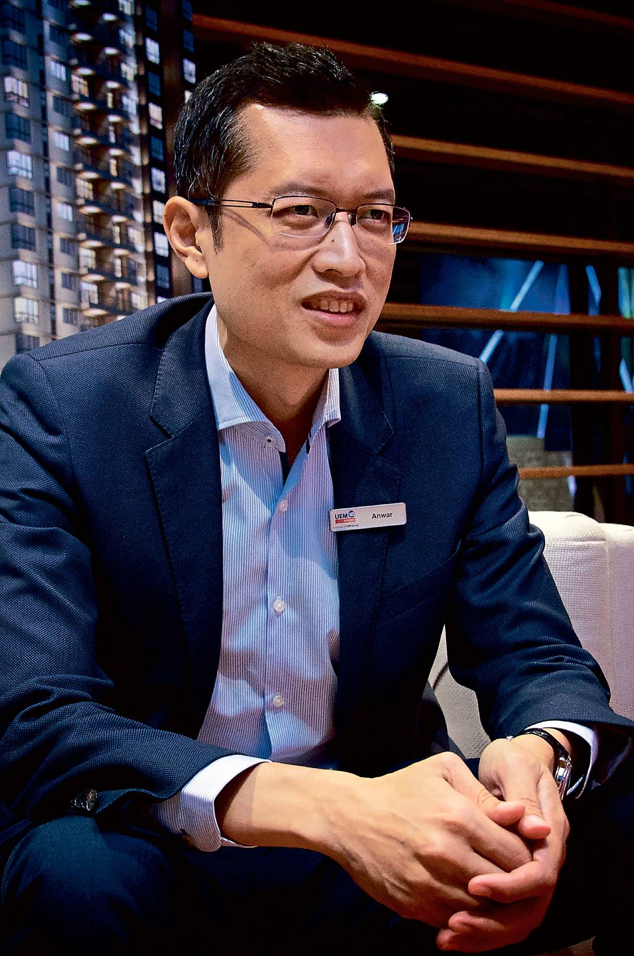 Anwar Syahrin says the company's focus is to create active urban living for everyone.
