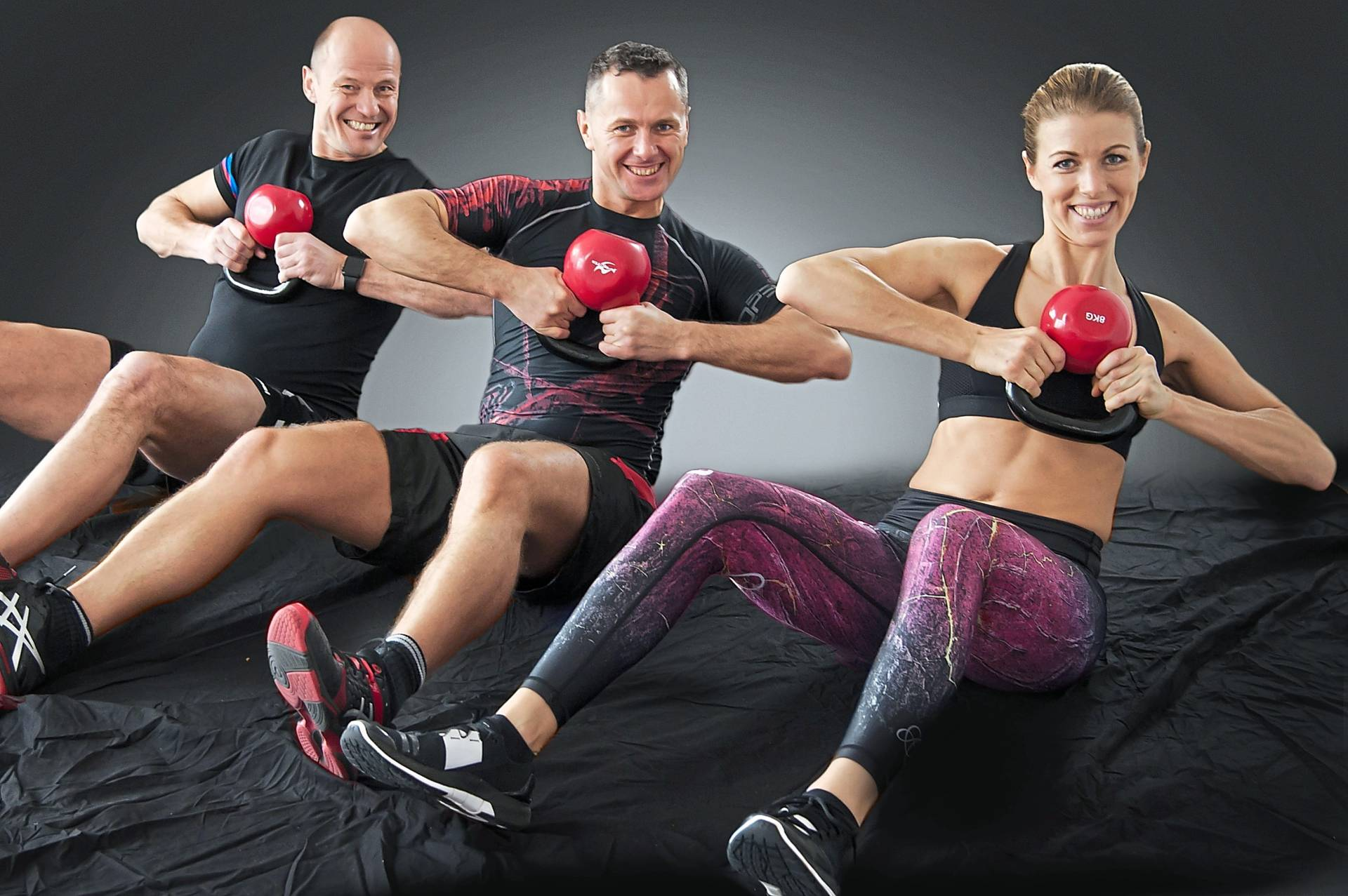 Russian twists are great for toning the abdominal muscles.
