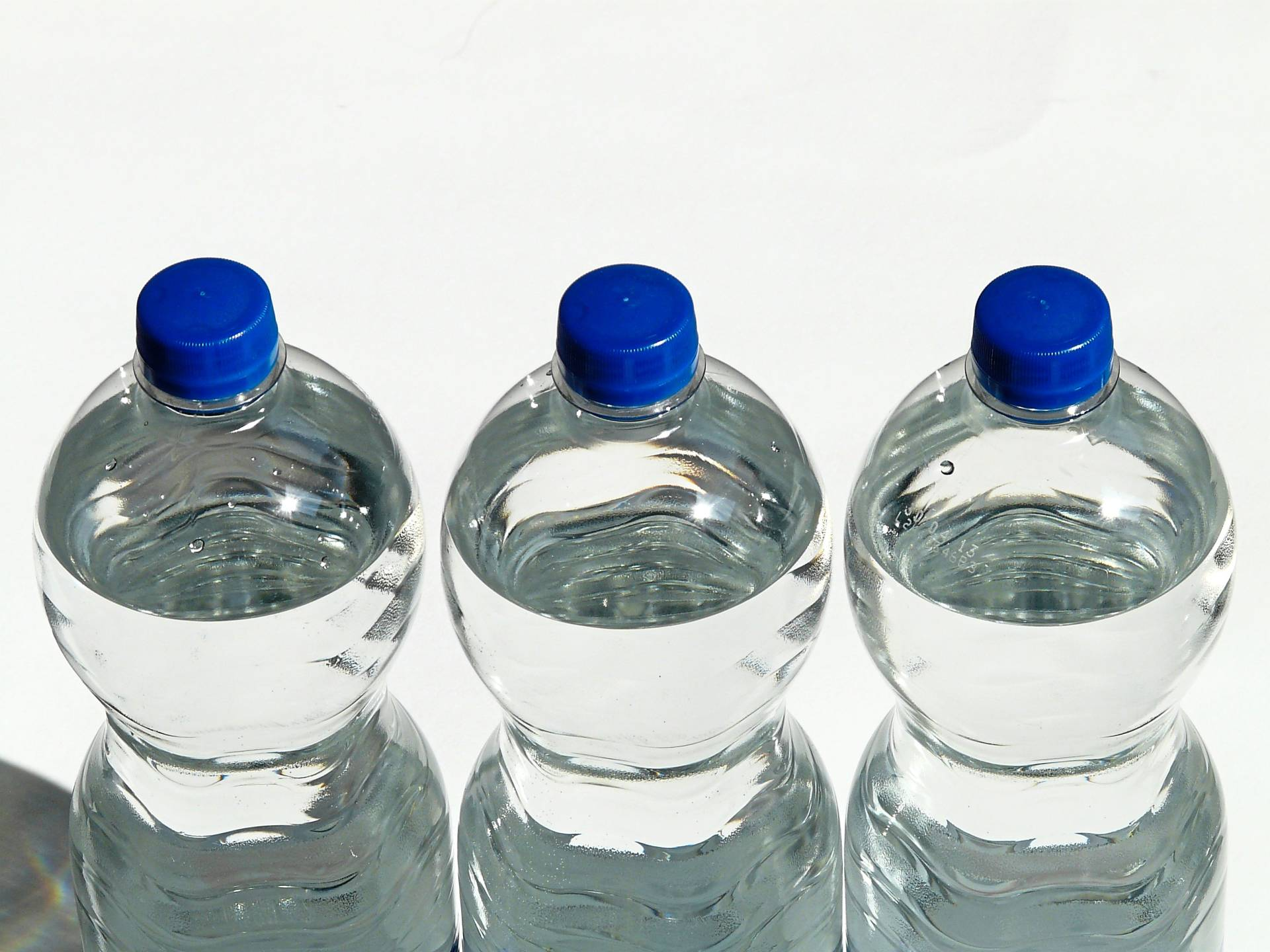 All you need to workout indoors are water bottles that can act as dumbbells.