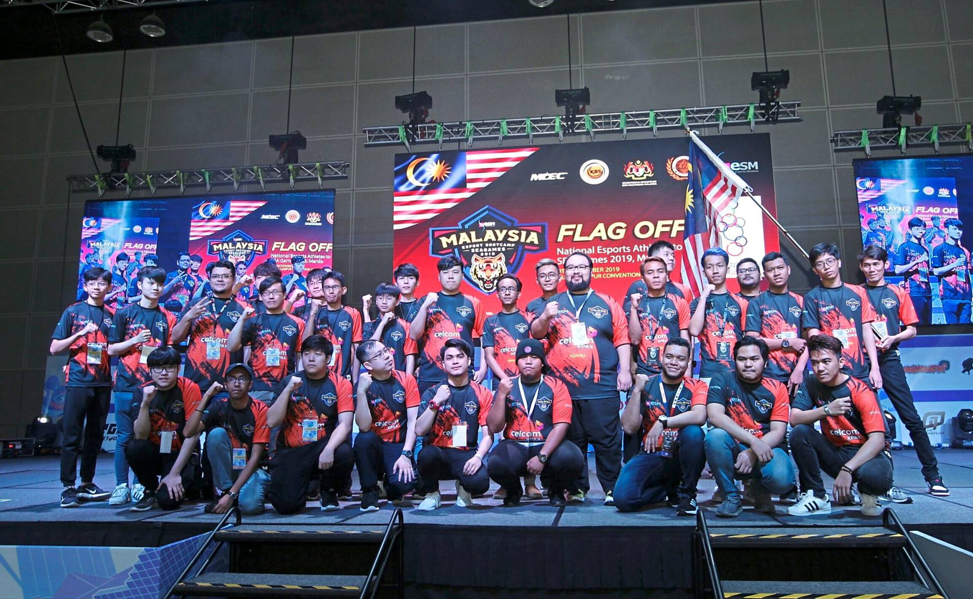 The eSports team representing Malaysia at SEA Games 2019 will compete in six medal events in Manila. — AZMAN GHANI/The Star