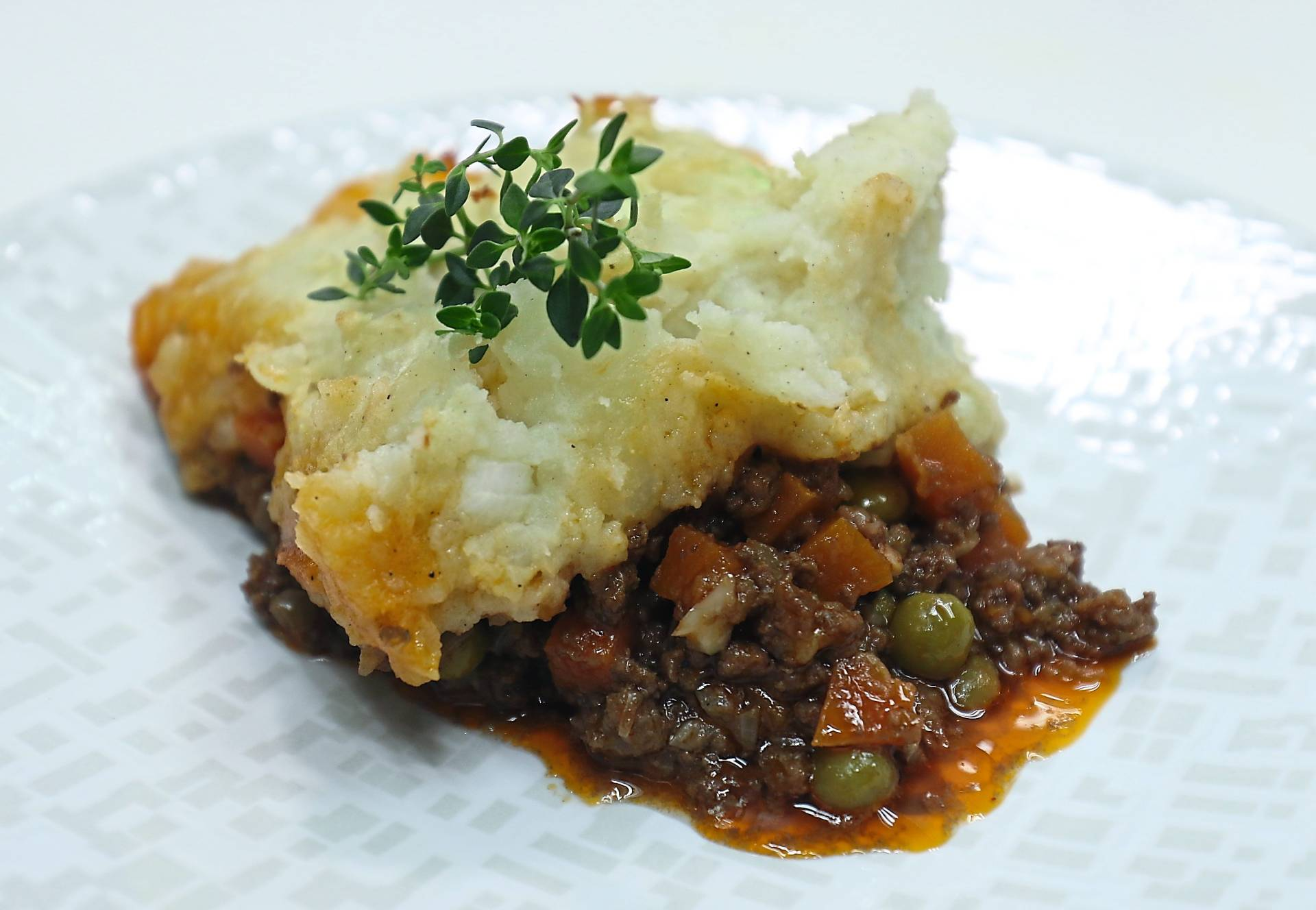 Shepherd's Pie can be a wholesome meal for any time of the day.