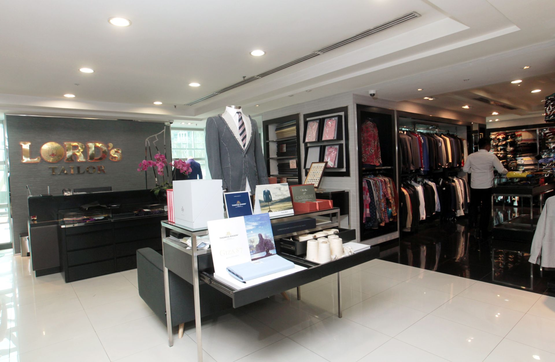 The Lord's Tailor boutique in Bangsar Shopping Centre
