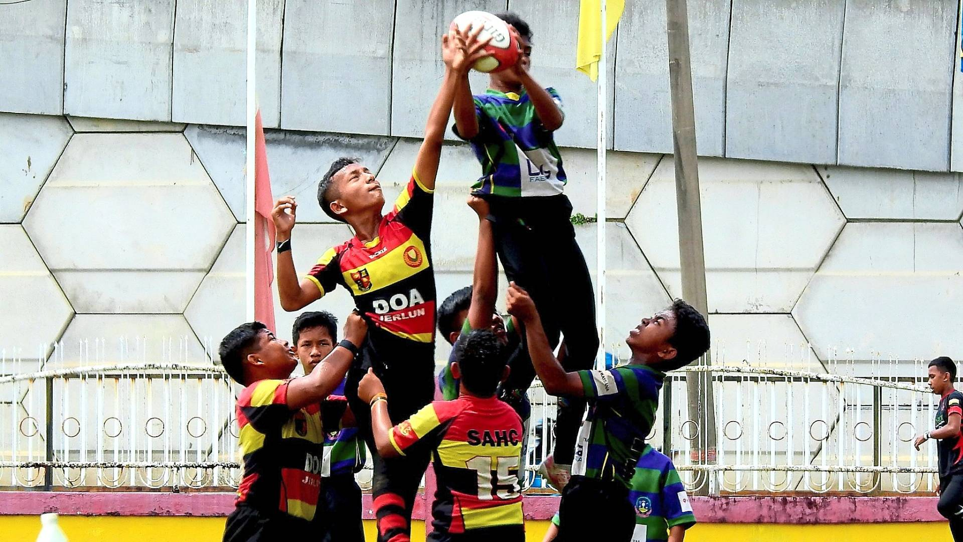 Schools play the main role in producing future athletes for the country and Aman Central hopes to assist them.