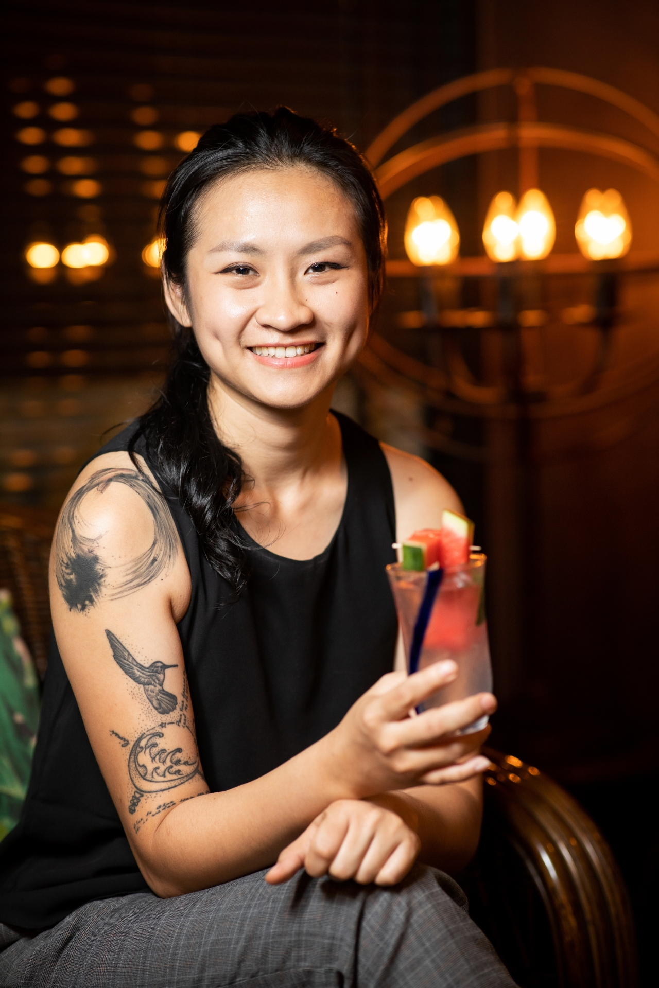 61 Monarchy's Shirmy Chan was named Bartender Of The Year KL. Photo: NZ Phang/Wholly Spirits