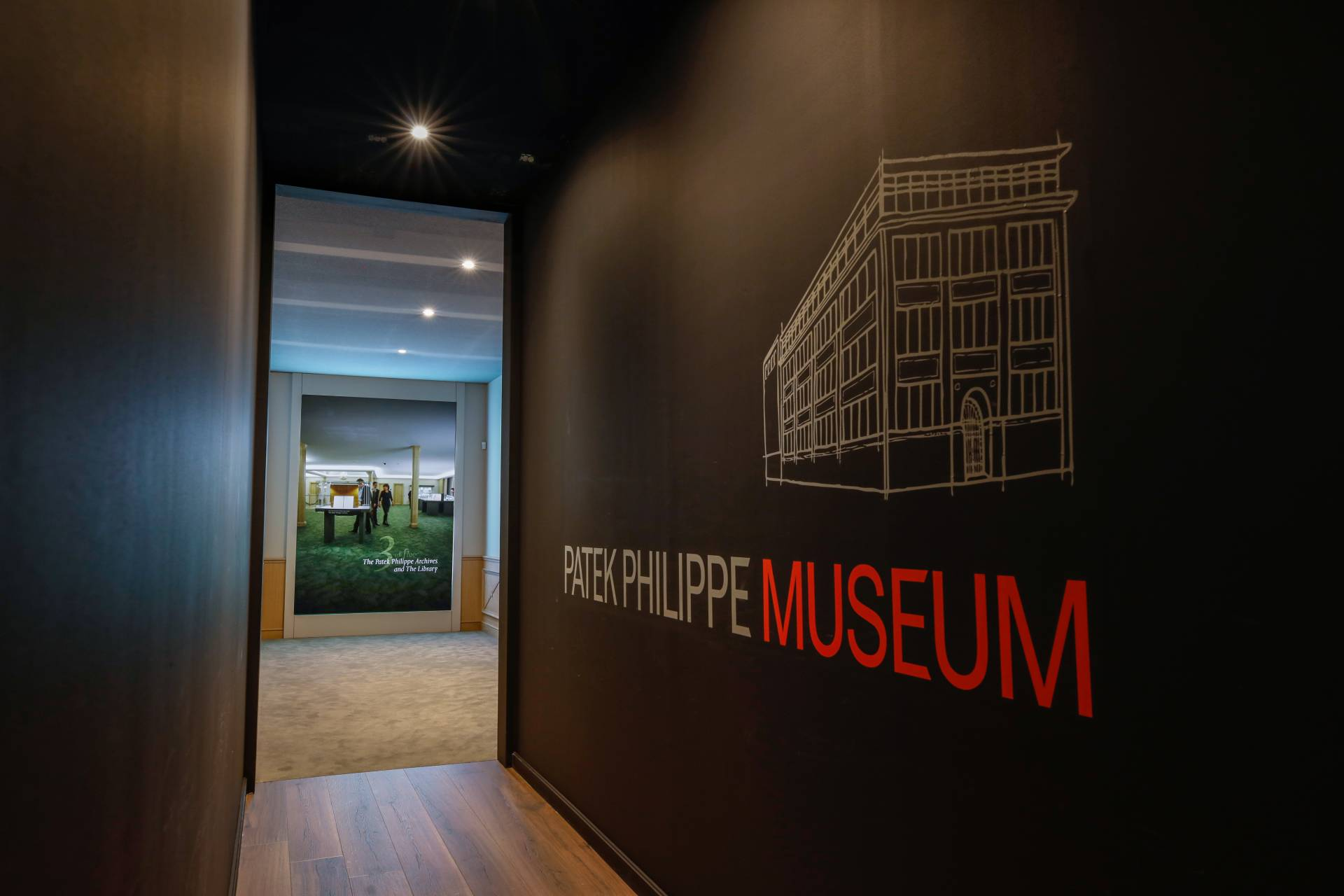 The Museum Room where all the marvellous timepieces from the past could be viewed