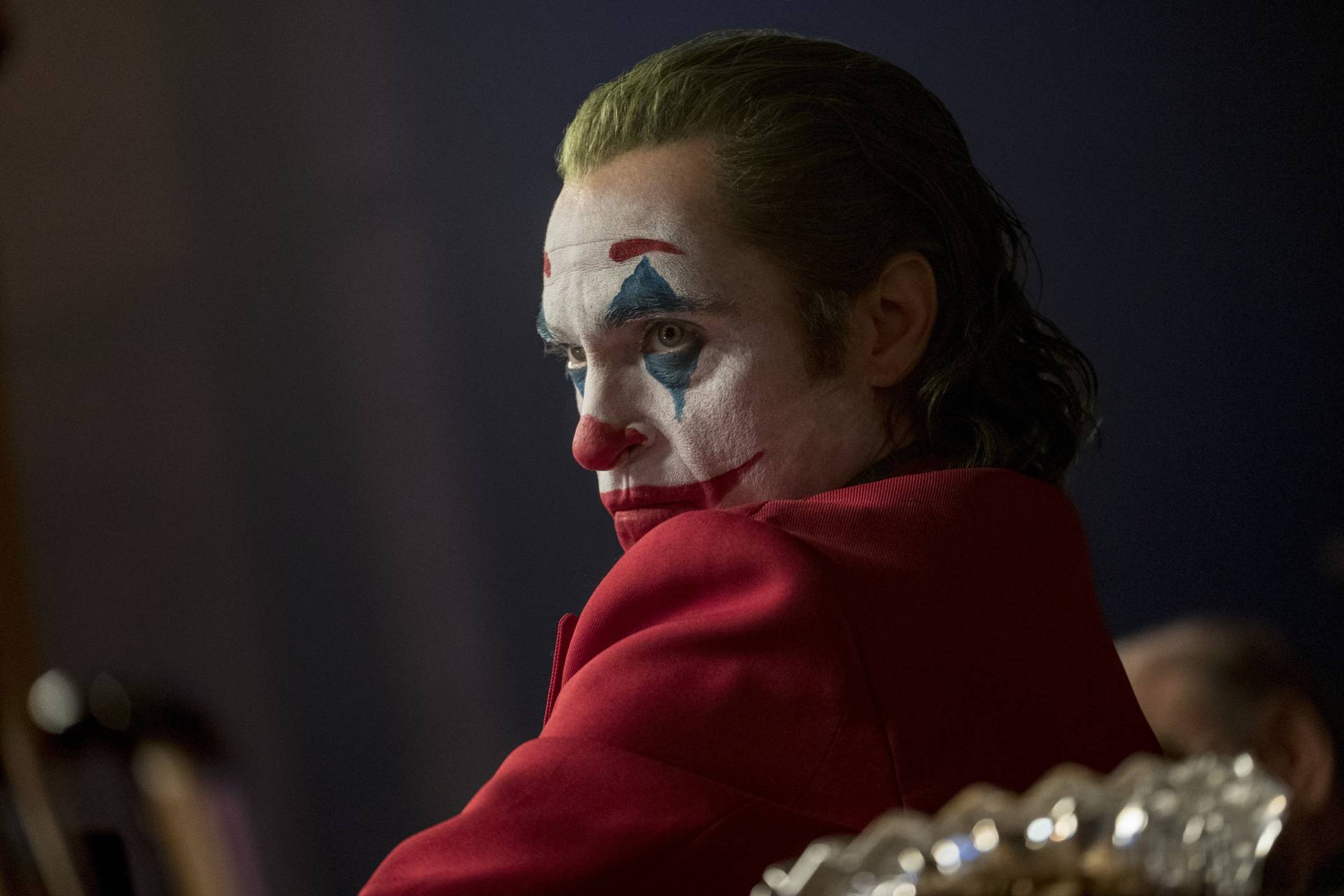 Joaquin Phoenix was nominated for a Golden Globe for best actor in a motion picture drama for his role in 'Joker'. Photo: Warner Bros.