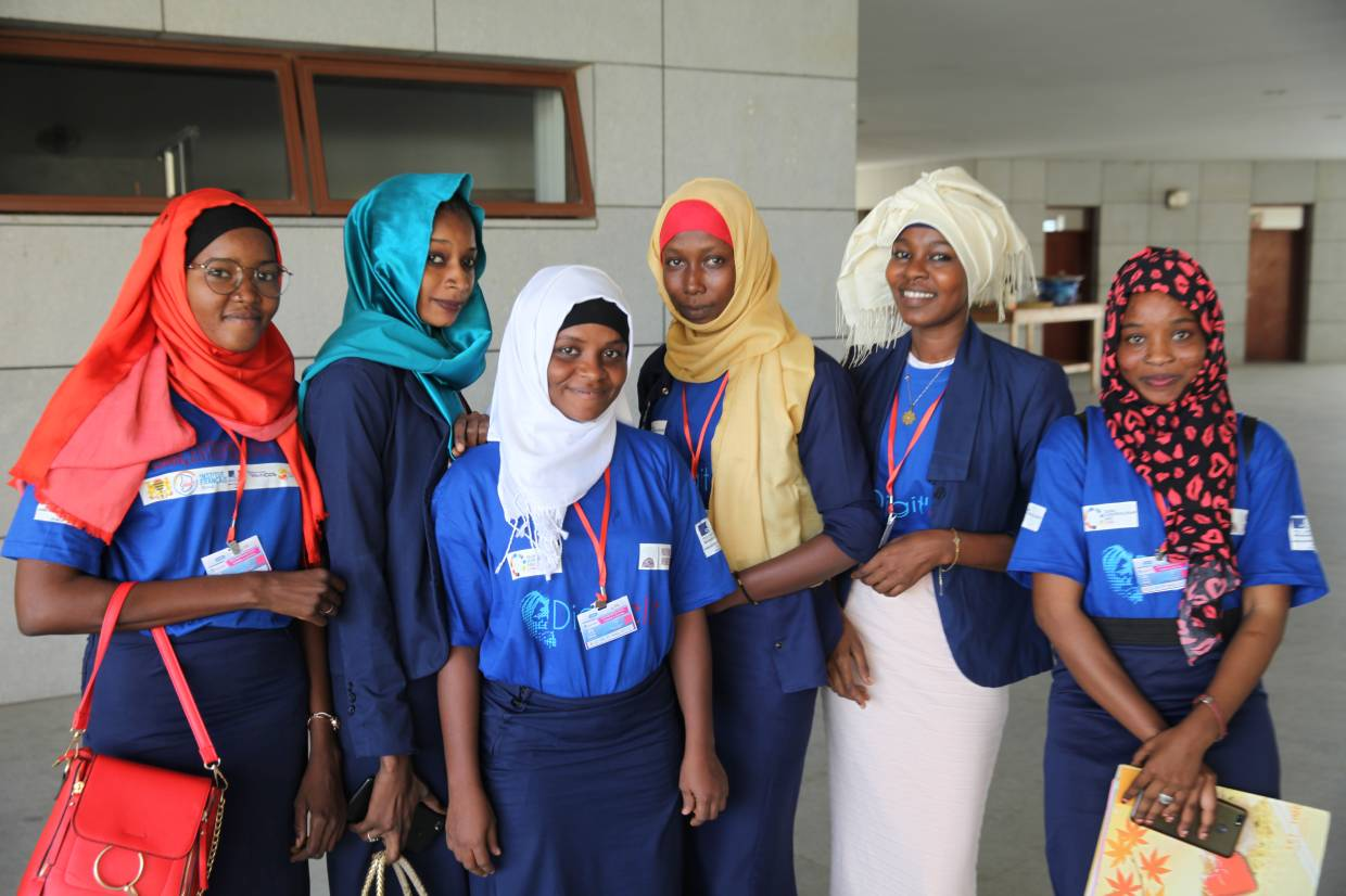 The event on women in tech, called Digit'Elle, was part of Chad's third annual Global Entrepreneurship Week and