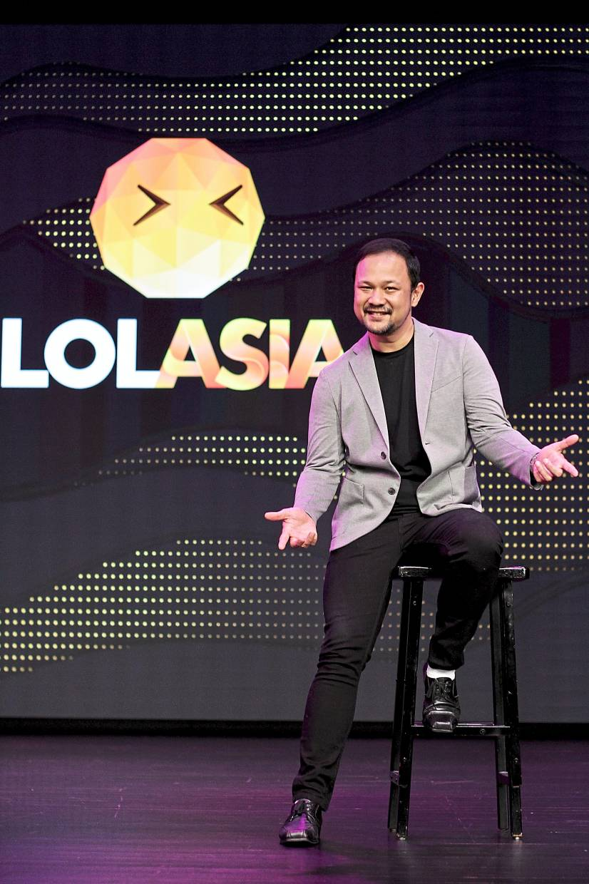 Rizal's company was rebranded to LOL Asia to reflect their aim for a new niche in Asian comedy.
