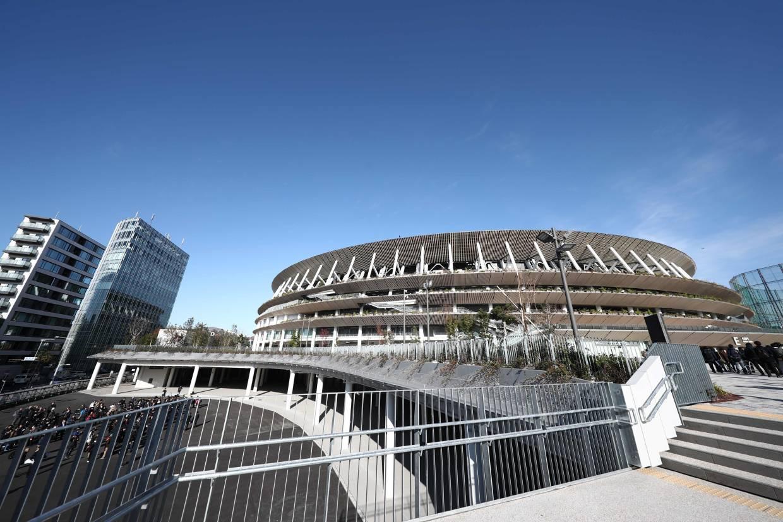 Tokyo unveils classy, amazing stadium - seven months before Olympics