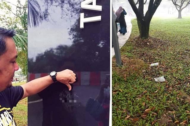Vandals and litterbugs spoil reopening of newly-refurbished Taman Tasik Titiwangsa