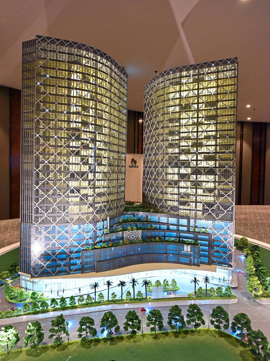 Menara Syariah Twin Towers is being built on a 1.4ha plot within the 12ha Islamic financial district.