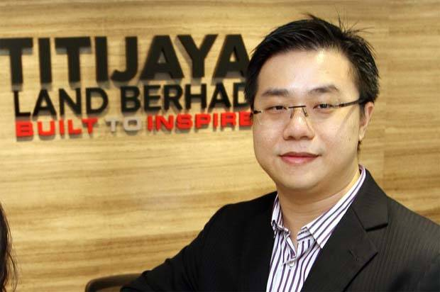 """""""The joint participation of Titijaya and Tokyu Land in the Riveria project will provide Titijaya with an opportunity for growth as well as access to new markets and distribution networks, leveraging on Tokyu Land's international presence and experience,"""" said Titijaya Land deputy group managing director Lim Poh Yit."""