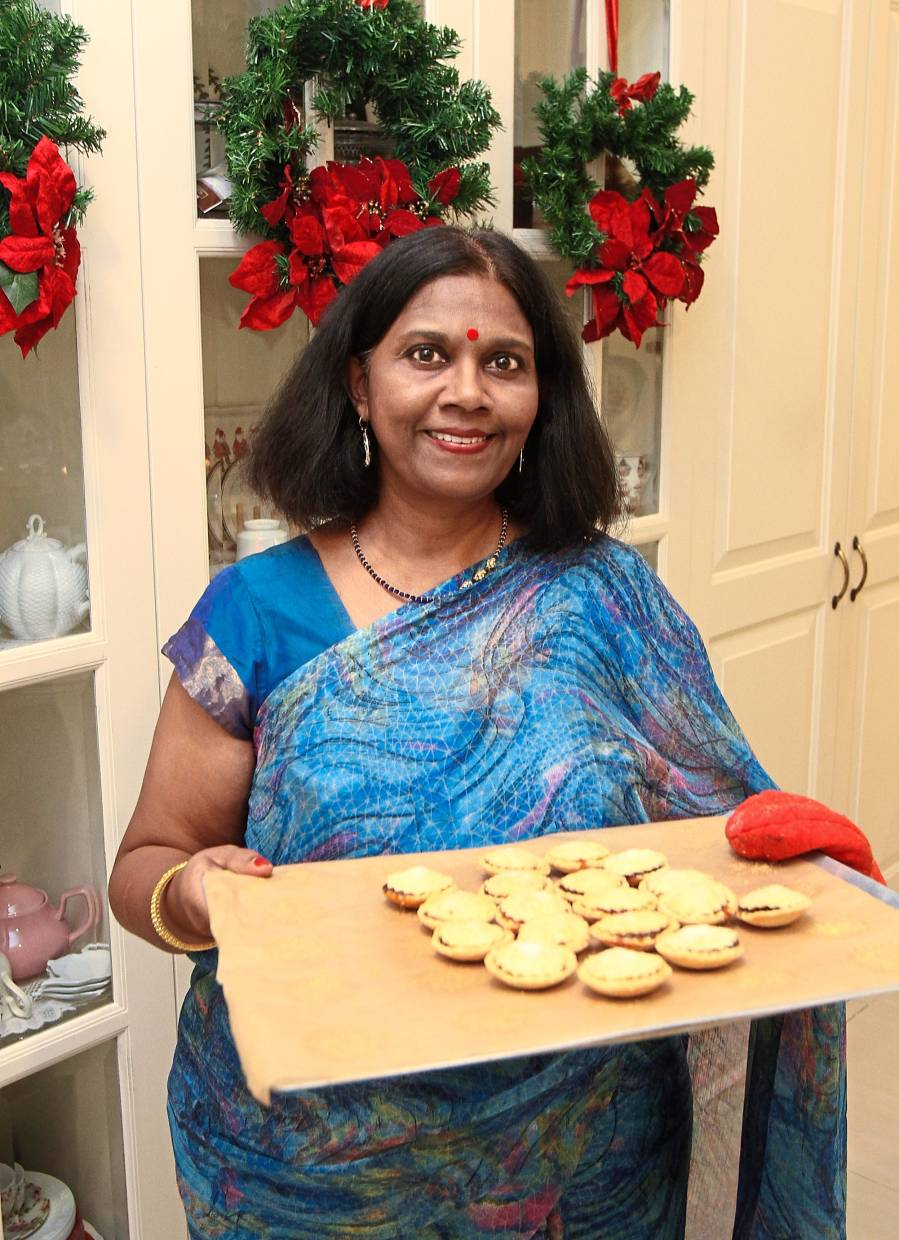 Juanita says she enjoys baking and making all sorts of sweet things for her family.