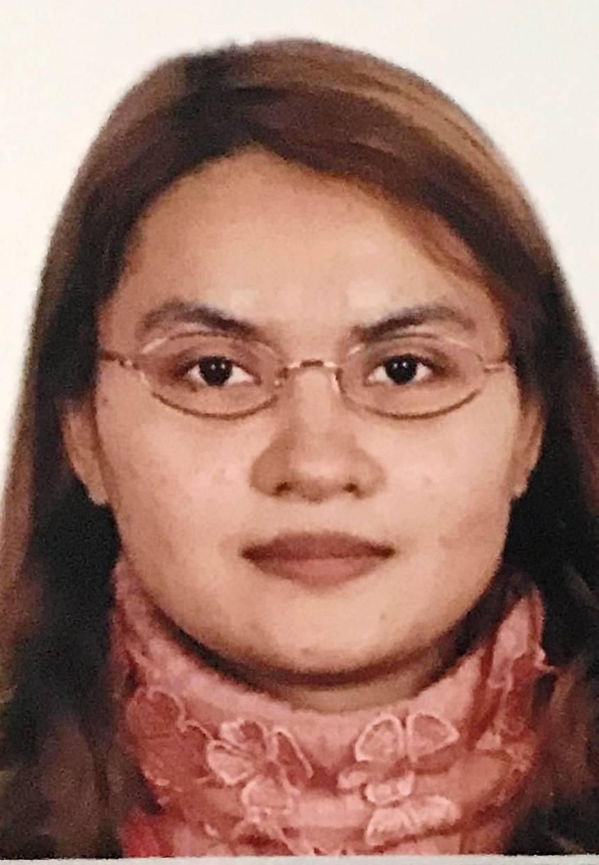 Htike was found with a knife in her neck.