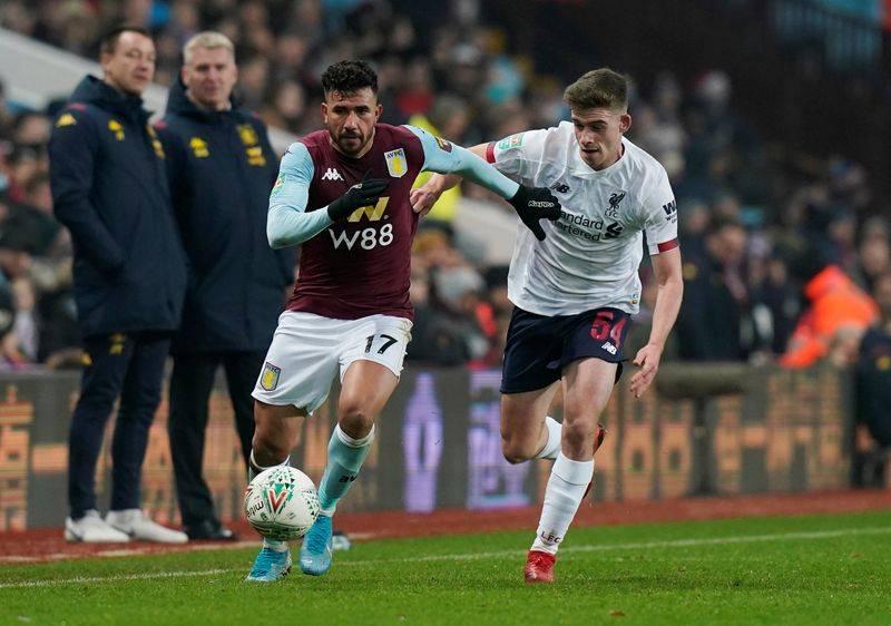 Image result for Football: Aston Villa reach League Cup semi-finals