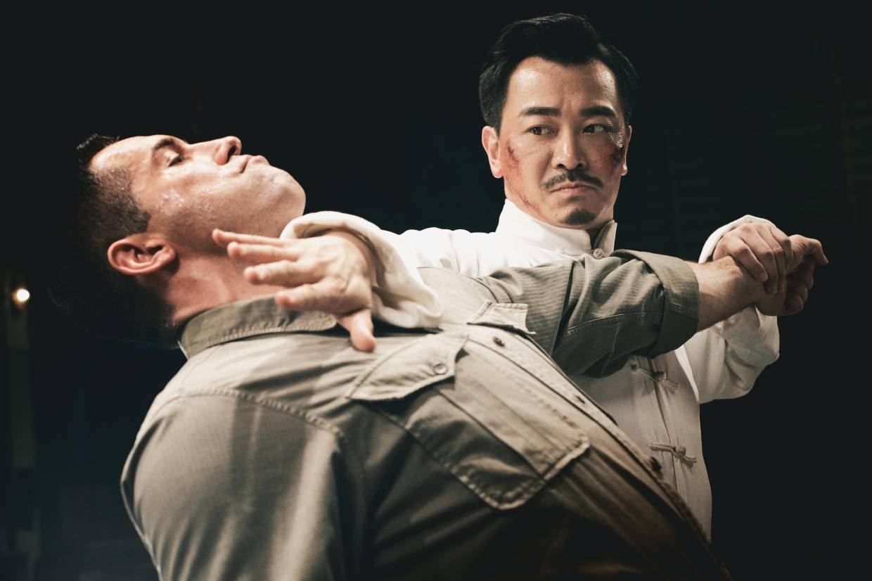 The tai chi master's version of the Heimlich manoeuvre was somewhat unconventional.