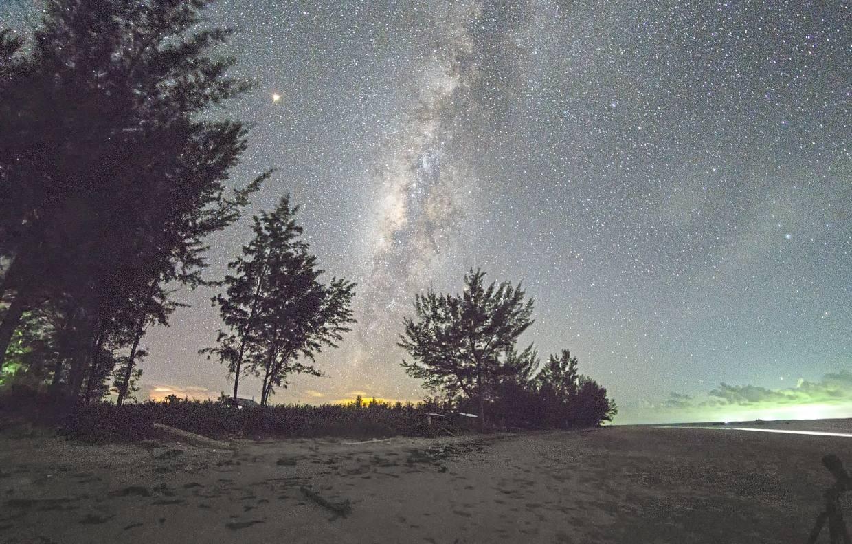 The pristine dark skies in Kudat promised an enchanting view of the Milky Way for Eddie.