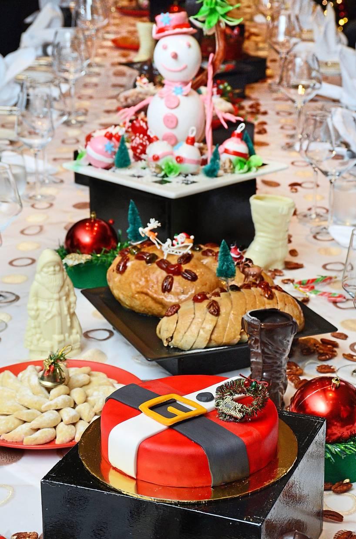 Christmas goodies for takeaways at Rasa Deli.