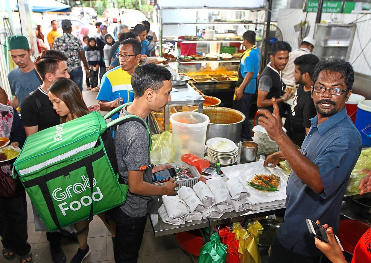 Penang Nasi Kandar Outlet Offers Delivery The Star