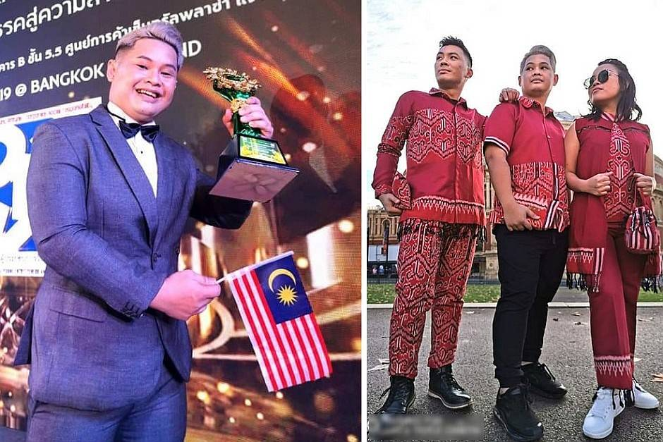 Bringing Borneo To London Sabahan Fashion Designer Wins Second Spot In Competition The Star