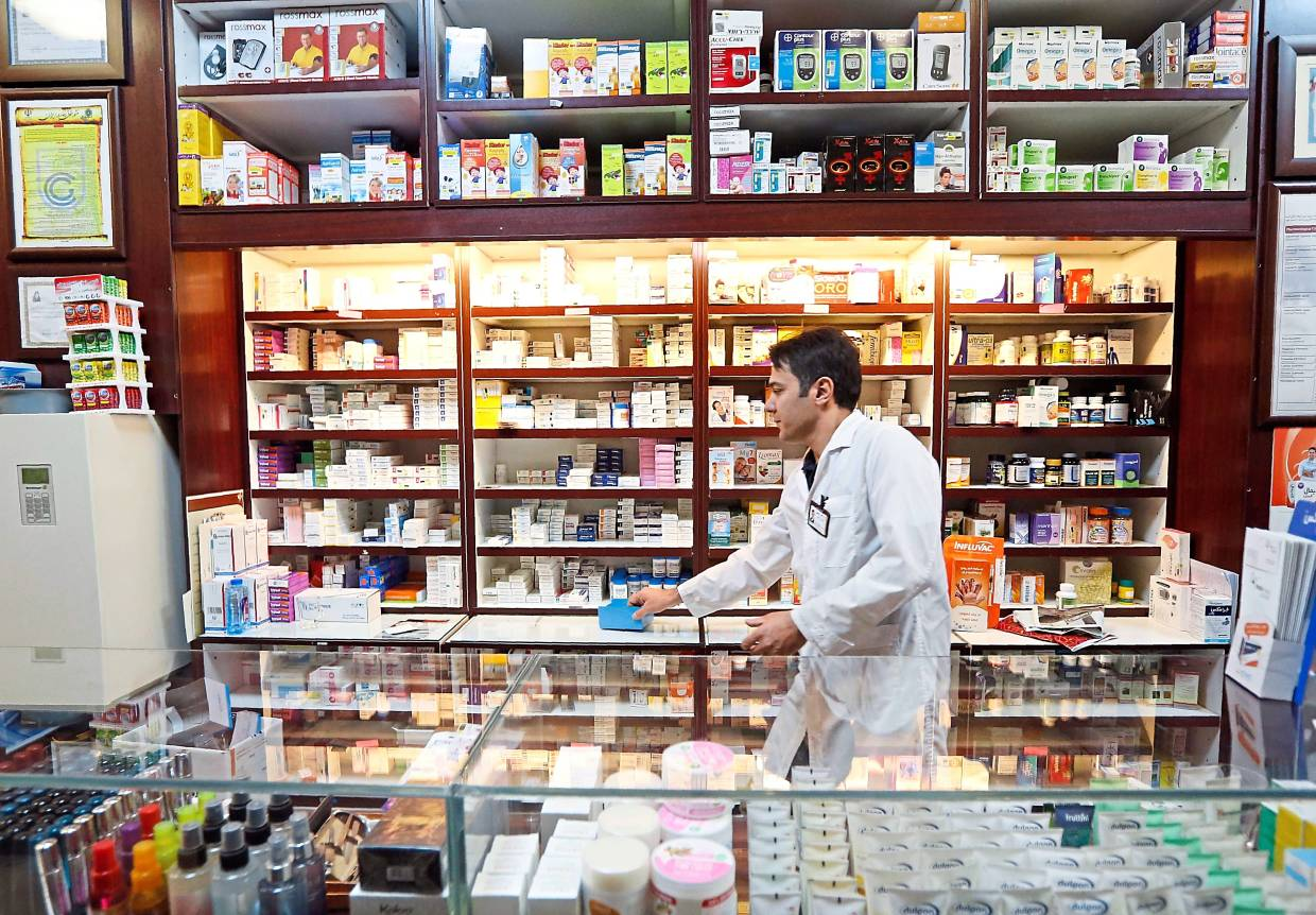 Still viable: Loh says there is still room to grow in the retail pharmacy business despite low margins. — AFP