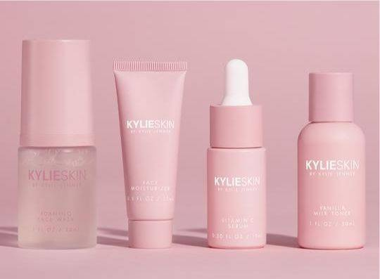 Kylie Jenner's skincare line will be sold in Europe at German retailer Douglas. -- Kylie Skin