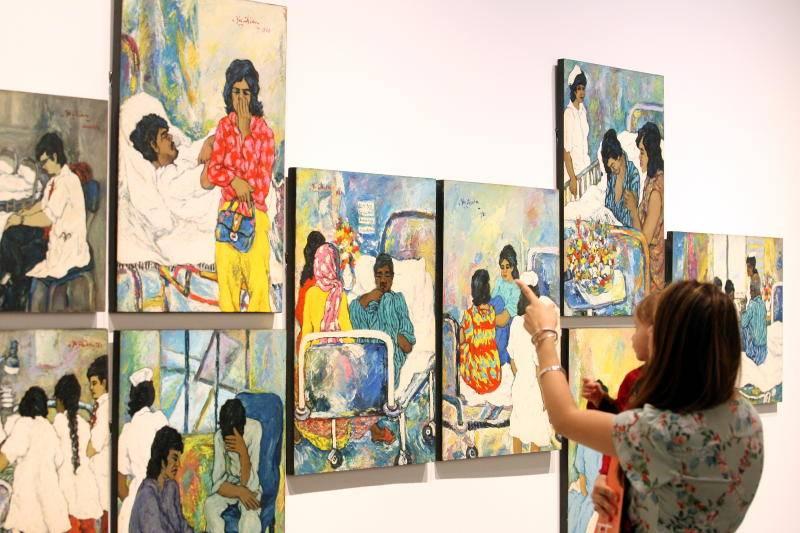 Chia Yu Chian's exhibition at Ilham Gallery.