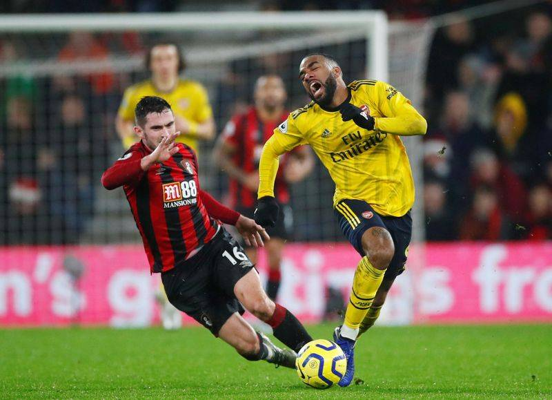 Image result for lacazette bournemouth