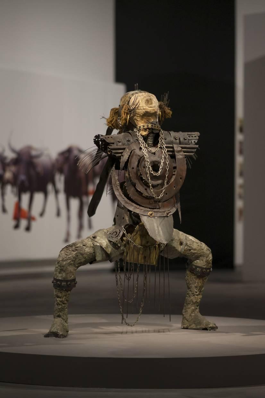 Bayu Utomo Radjikin's 'Lang Kacang' sculpture was last exhibited in Malaysia in 1991 - over 27 years ago. Photo: Handout
