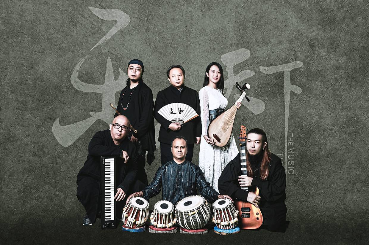 Beijing-based world music band The Music The World to play DPAC on Jan 11 and 12. Photo: Handout