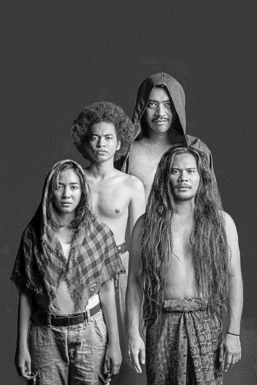 The cast of '70 Pengikut Syaitan'.