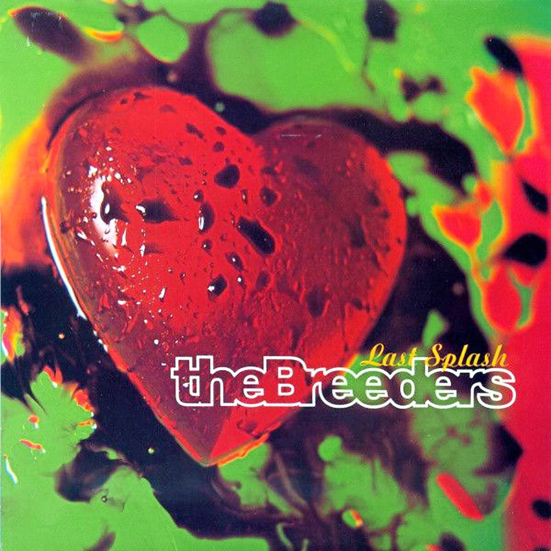 Oliver's cover artwork for The Breeders album 'Last Splash' (1993). Photo: 4AD
