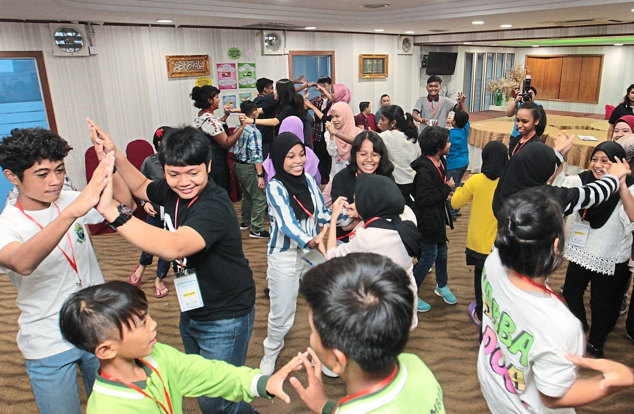 Children from Petaling Jaya being trained to become the voice for their peers in the city when they are appointed as child councillors.