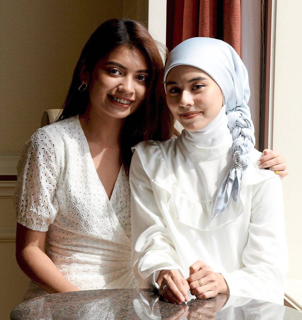 Singers Jeryl Lee and Masya Masyitah will perform at the Arena of Stars on Dec 31. - S.S.KANESAN/The Star