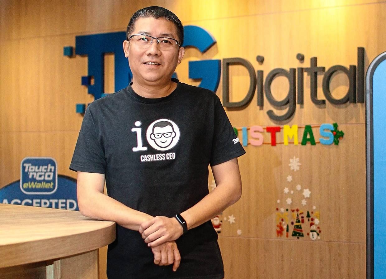 TNG Digital Sdn Bhd chief executive officer Ignatius Ong. - MUHAMAD SHAHRIL ROSLI/The Star.
